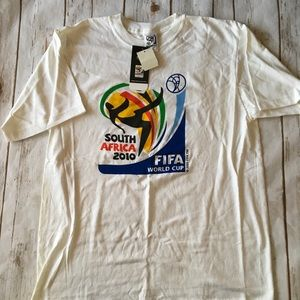 Adidas 2010 South Africa World Cup Tee Sz M